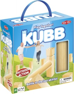 Tactic werpspel Kubb in Cardboard Box