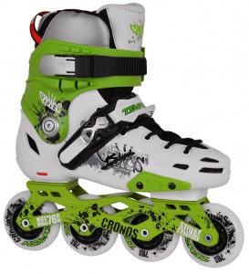 Tempish Cronos Freestyle Skates groen/wit