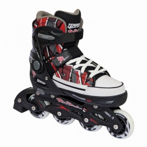 Tempish Rebel PP Inline skates junior zwart/rood