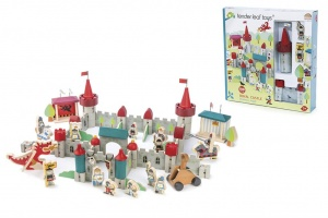 Tender Toys koningskasteel speelset junior 52 x 41 x 22 cm