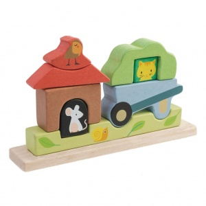 Tender Toys magneetpuzzel Tuin hout junior 23 x 44 x 12,5 cm