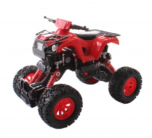 Toi-Toys off-road truck 16 cm rood