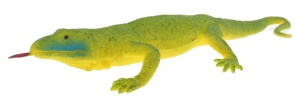 Toi-Toys reptiel soft touch varaan 20 cm groen