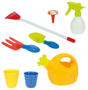 Toi-Toys tuinset groen/rood 8-delig 40 cm