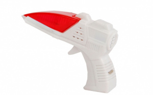 TOM mini-laserpistool junior 15 x 10 cm wit/rood
