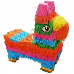 TOM piñata Fortnite lama 40 cm multicolor
