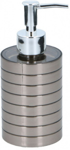 TOM zeepdispenser 300 ml RVS zilver