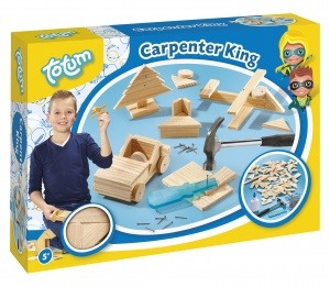 Totum Carpenter King: houten timmerset