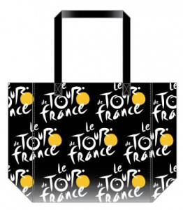 Tour De France Shopper 25 x 32 cm zwart