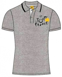 Tour de france Poloshirt Heren Grijs