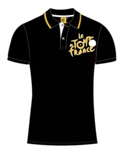 Tour De France Poloshirt Heren Zwart