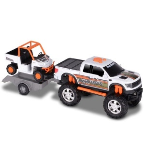 Toystate Road Rippers: Ford F-150 sport trailer wagen wit
