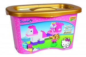 Unico Hello Kitty prinses blokkendoos 44-delig