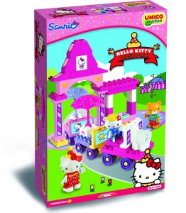 Unico Hello Kitty treinset 51-delig