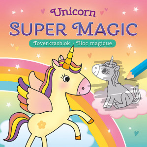 Deltas Unicorn Super Magic Toverkrasblok
