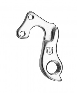 Union derailleurhanger GH-220 Focus, Raleigh, Wilier 55 mm zilver