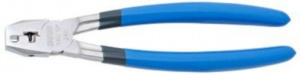 Unior kettingponstang E320 24,3 cm staal/rubber zilver/blauw