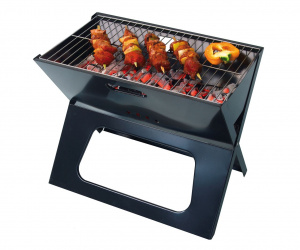 United Entertainment Barbecue Notebook 49 x 40 x 30 cm zwart