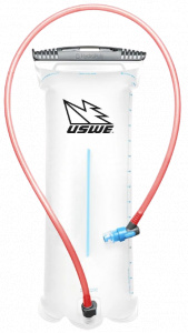 USWE drinkreservoir Shape-Shift 2,5 liter polyurethaan rood