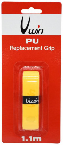 Uwin grip tennis/badminton/squash 1,88 mm synthetisch geel