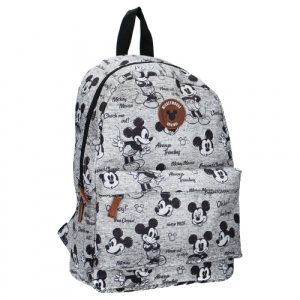 Vadobag rugzak Mickey Mouse 10 liter junior polyester grijs