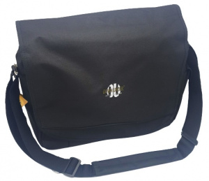 Verhaak laptoptas Down Under 43 x 37 cm polyester zwart