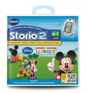 VTech Storio Game: Disney - Mickey Mouse Clubhuis