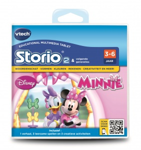 VTech Storio Game: Disney - Minnie Mouse