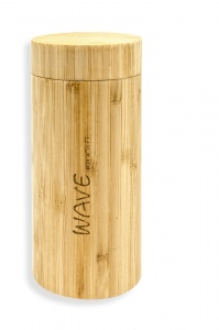 Wave Hawaii brillenkoker bamboo Box unisex blank