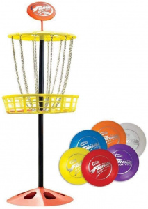 Wham-o disc golf set Mini Frisbee junior staal 7-delig