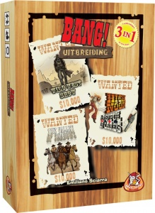 White Goblin Games uitbreidingsset Bang! 3-in-1