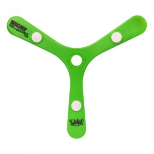 Wicked boomerang Booma Night Led 26,5 cm groen