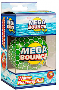 Wicked strandbal Mega Bounce H2O 7 cm groen