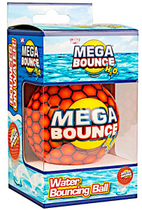 Wicked strandbal Mega Bounce H2O 7 cm oranje
