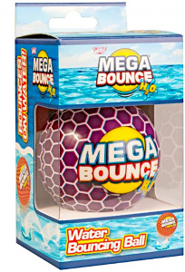 Wicked strandbal Mega Bounce H2O 7 cm paars