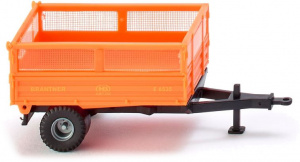 WIKING miniatuurkipper Brantner Single Axle 1:87 oranje