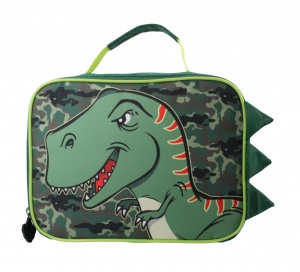 William Lamb lunchtas dinosaurus jongens groen 25 x 18,5 x 10 cm