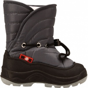 Winter-Grip Snowboots junior grijs zwart