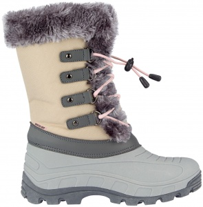 Winter-Grip snowboots Northern Glam bruin/grijs dames