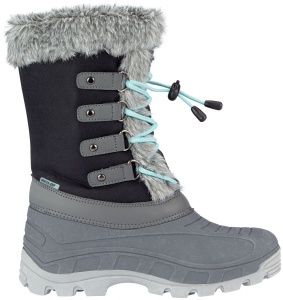 Winter-Grip snowboots Northern Glam grijs dames
