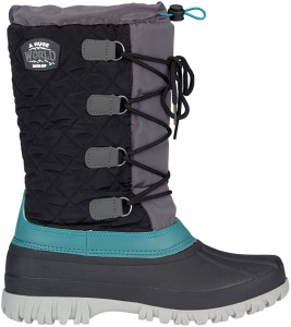 Winter-Grip Snowboots Winter Wanderer unisex zwart/grijs