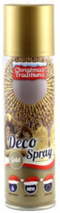 Witbaard decoratiespray 150 ml goud