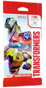Wizards of the Coast Transformers boosterpack (en)