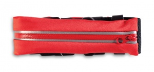 Worldpack Security Belt heuptas rood 92 x 4,5 cm