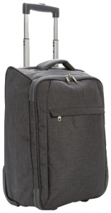XD Collection trolley opvouwbaar 40 liter polyester antraciet