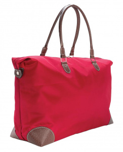 XD Collection weekendtas 30 liter 67 x 37 cm microvezel rood