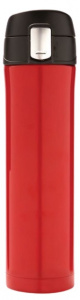 XD Design thermosfles 0,5 liter 25 cm RVS/polypropyleen rood