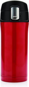 XD Design thermosfles Auto 0,3 liter RVS/polypropyleen rood