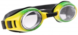 Yello Spray Goggles zwembril unisex groen/geel
