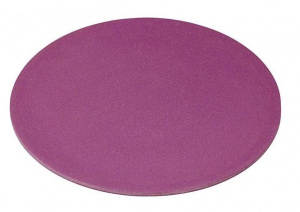 Zuperzozial bord Purple 20,5 cm bamboe paars